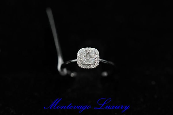 Immagine di ANELLO CON DIAMANTI 0,36 CT