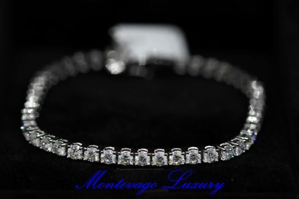 Picture of BRACCIALE TENNIS CON DIAMANTI 9,20 CT