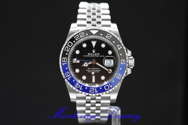 Picture of ROLEX GMT MASTER II REF. 126710BLNR