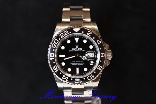 Picture of ROLEX GMT MASTER II REF. 116710LN