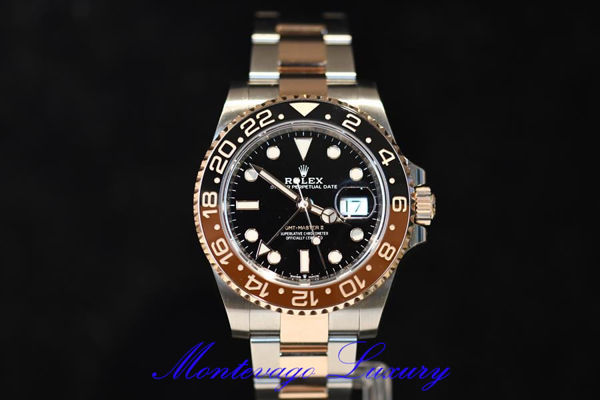 "Immagine di ROLEX GMT MASTER II REF. 126711CHNR ""ROOT BEER"""