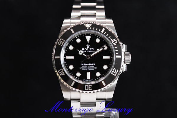 "Picture of ROLEX SUBMARINER ""NO DATA"" REF. 114060"